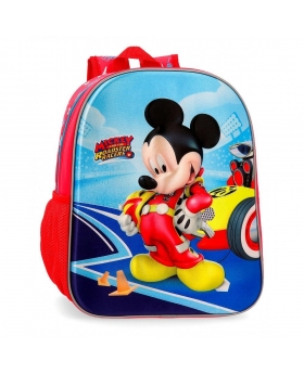 Mickey Mouse Mochila  Lets Roll Mickey Multicolor - 1
