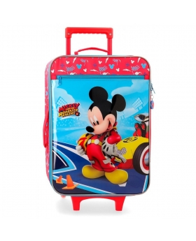 Mickey Mouse Maleta de cabina  Lets Roll Mickey Multicolor - 1
