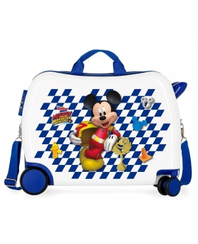 Mickey Mouse Maleta correpasillos 2 ruedas multidireccionales Mickey Good Mood Multicolor - 1
