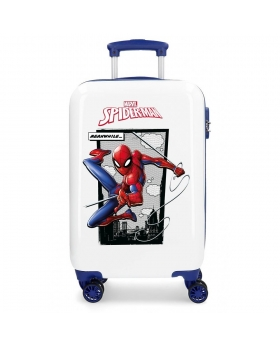 Spider-Man Maleta de cabina Rígida  Spiderman Action Azul - 1