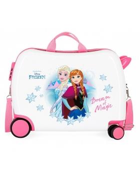 Frozen Maleta correpasillos 2 ruedas multidireccionales  Dream of Magic Multicolor - 1