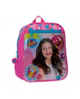 Soy Luna Mochila preescolar Luna Star bolsillo frontal Rosa - 1