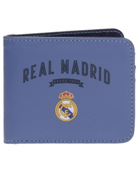 Real Madrid Billetero Vintage RM Lila Morado - 1
