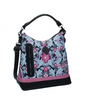 Catalina Estrada Bolso hobo  Jungle Multicolor - 1
