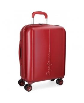 Pepe Jeans Maleta de cabina  Cambridge Roja rígida  Rojo - 1