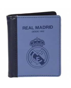 Real Madrid Billetero  Blue Vertical Azul - 1