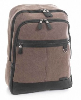 Mochila portátil Matties Adventur Marrón - 40cm | Maletia.com