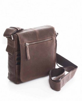 Matties Bags Piel Wash Bandolera Tablet Marrón 0