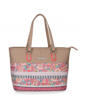 Catalina Estrada Bolso tote  Nature Multicolor - 1