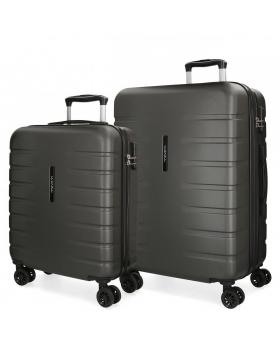 Movom Juego de 2 maletas rígidas 55-69  Turbo gris Gris - 1
