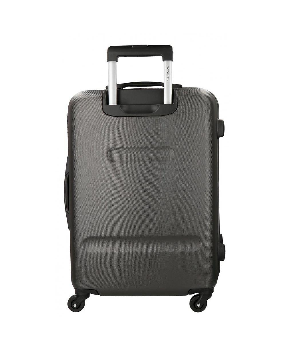 4e7a585b5 Juego de dos maletas rígidas 55- Flex Antracita Roll Road Gris 65cm ...
