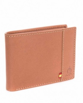 Billetero de piel El Caballocon monedero Marrón - 12cm | Maletia.com