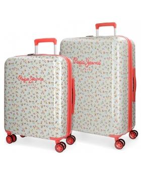 Pepe Jeans Juego de maletas rígidas 55-  Joseline Multicolor - 1