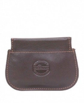 Monedero Piel Nature Marrón - 10cm | Maletia.com