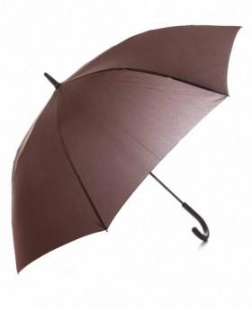 Pierre Cardin Paraguas largo automático Marrón 0