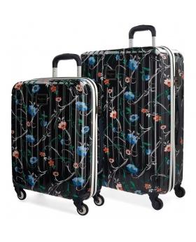 Pepe Jeans Juego de maletas  Pasqui rígida 55-  Multicolor - 1