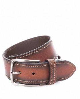Miguel Bellido Cinturón Jeans Piel Marrón 115 0