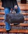 Rosme Tumble Bolsa de viaje de piel Marrón (Foto 2)