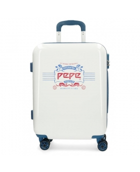 Pepe Jeans Maleta de cabina rígida   Luggage Classic Blanca Blanco - 1