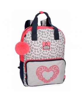 Enso Mochila  Heart  adaptable a carro Multicolor - 1