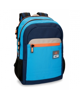 Adept Mochila  Power  portaordenador 15,6 pulgadas doble compartimento adaptable a trolley Azul - 1