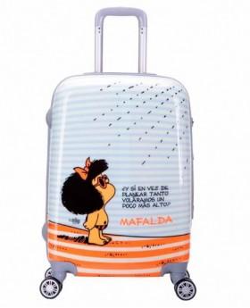 Mafalda Tarifa Maleta mediana Naranja 0