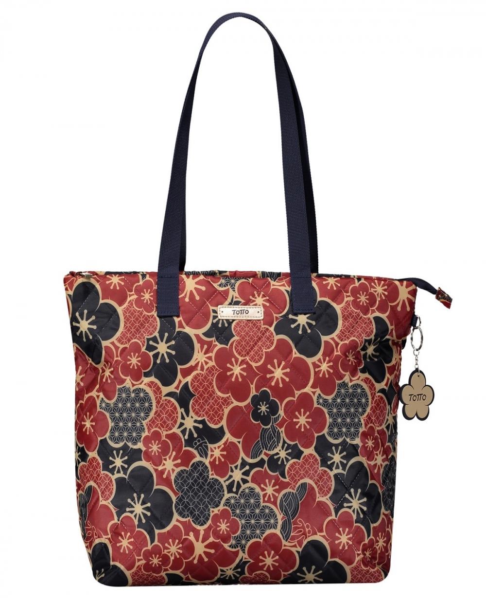 Totto Bolso shopper mujer Rojo (Foto )