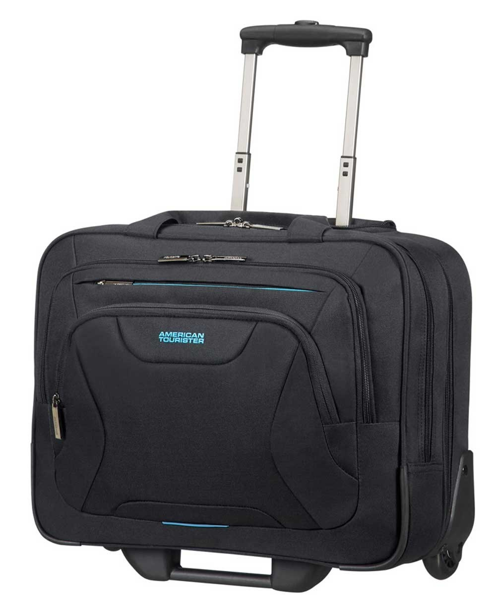 "American Tourister At Work 15.6"" Maletín con ruedas Negro (Foto )"