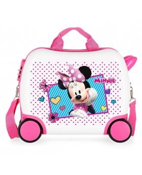 Minnie Mouse Maleta correpasillos pequeña Minnie Joy Multicolor - 1