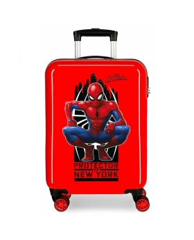 Spider-Man Maleta de cabina rígida Spiderman Geo roja Rojo - 1