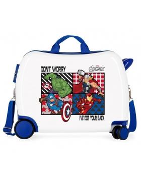 Marvel Maleta correpasillos All Avengers 2 ruedas multidireccionales Multicolor - 1