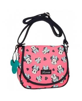 Minnie Mouse Bandolera Minnie Wink con solapa Rosa - 1