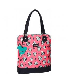 Minnie Mouse Bolso shopper Minnie Wink Rosa - 1