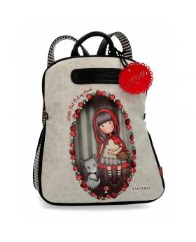 Santoro Gorjuss Mochila casual Gorjuss Little Red Riding Hood Multicolor - 1