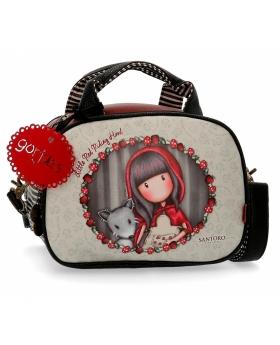 Santoro Gorjuss Neceser con bandolera Gorjuss adaptable Little Red Riding Hood Multicolor - 1