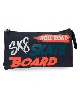 Roll Road Estuche Tres Compartimentos  Freestyle Multicolor - 1