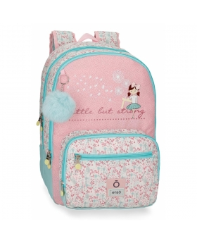 Enso Mochila Doble Compartimento   Secret Garden adaptable a carro Multicolor - 1