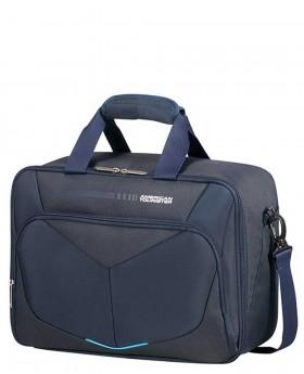 Bolsa de viaje American Tourister SummerFunk Azul Marino - 39cm | Maletia.com