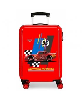 Cars Maleta de cabina rígida Lightning McQueen Roja Rojo - 1