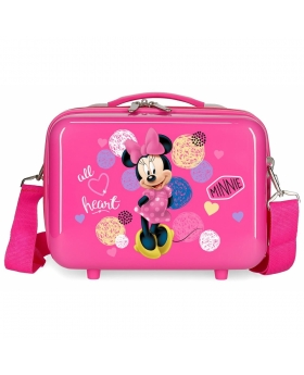 Minnie Mouse Neceser adaptable a trolley Minnie Heart Rosa - 1