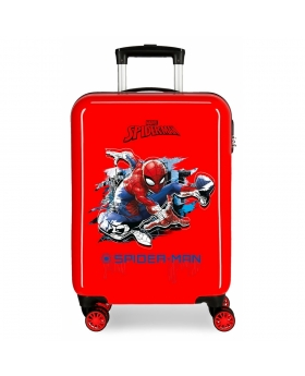 Spider-Man Maleta de cabina rígida Spiderman roja Rojo - 1