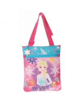 Frozen Bandolera bolsillo frontal  Elsa Rosa - 1