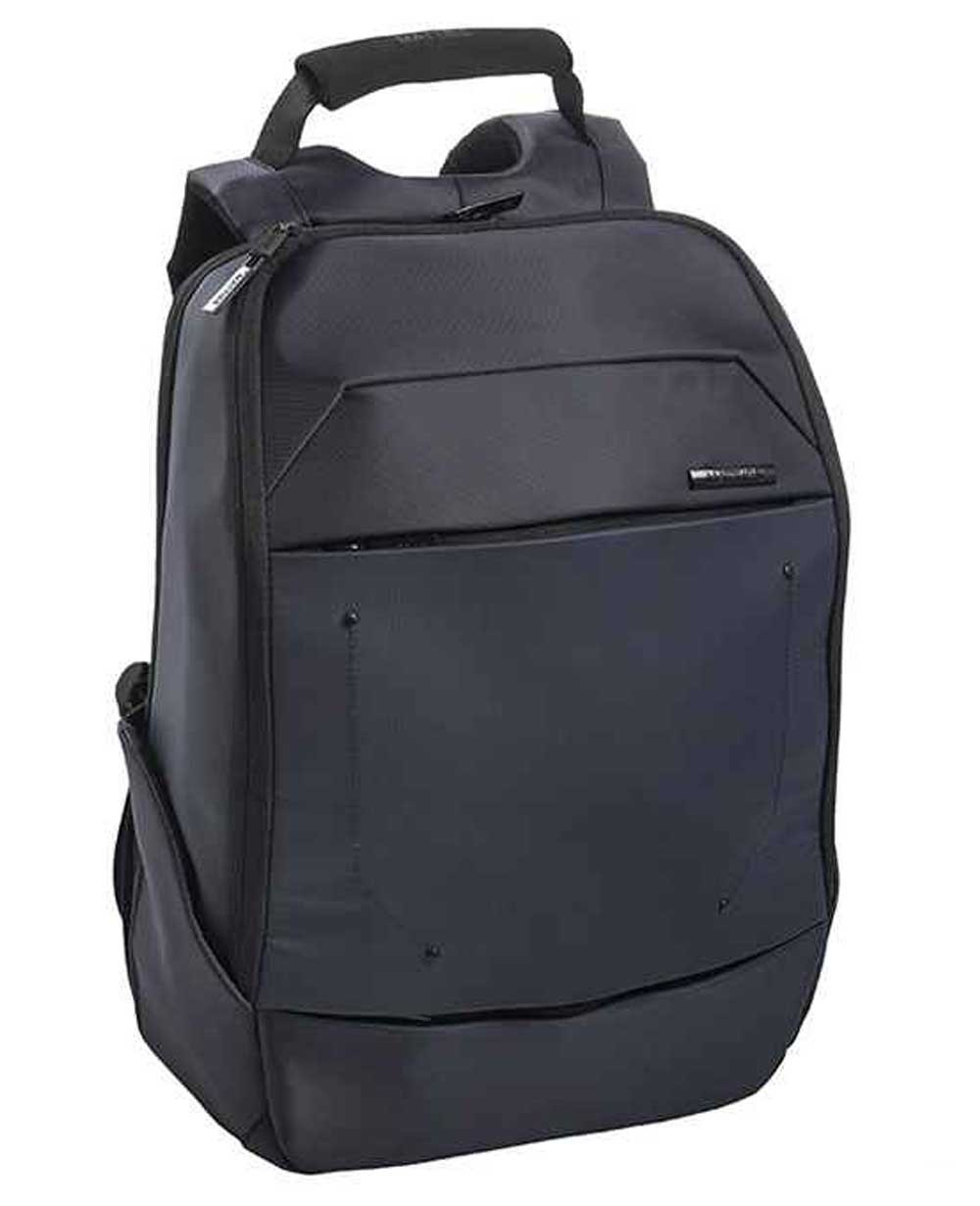 "Matties Bags 14.1"" Mochila Nylon Azul (Foto )"