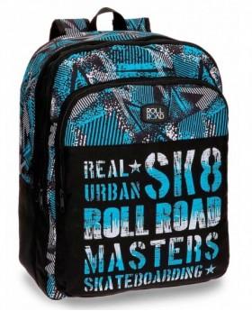 Roll Road Sk 8 Mochila adaptable Negra 0
