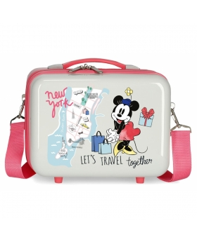 Minnie Mouse Neceser ABS Minnie New York Adaptable Multicolor - 1