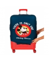 Disney Funda para maleta de cabina Mickey Azul (Foto 7)