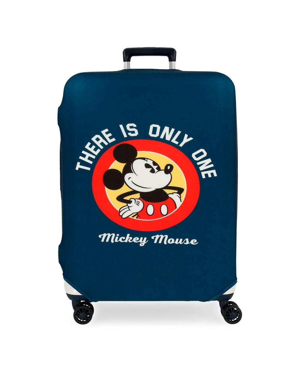 Disney Funda para maleta mediana Mickey azul Azul (Foto )