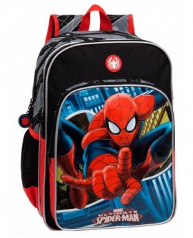 Marvel Spiderman Mochila adaptable Negra