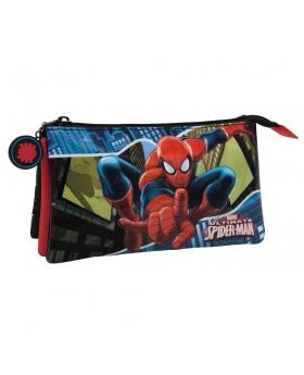 Marvel Spiderman Estuche Negro