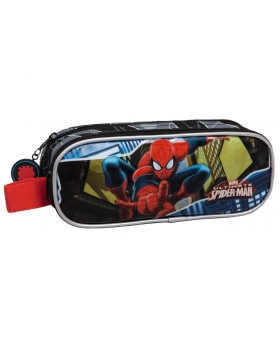 Marvel Spiderman Estuche Negro